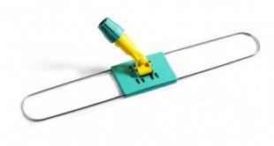 Držák zametacího mopu 100 cm - kovový s plastovým kloubem