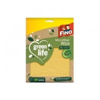 Hadřík z mikrovlákna Fino Green Life - balený, 36x36 cm, recyklovaný PES, natural, 1 ks