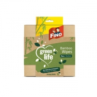 Rychloutěrka Fino Green Life - prachovka, 38x38 cm, bambus, natural, 3 ks