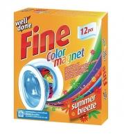 Prací ubrousky pohlcující barvu s vůní Well Done Fine - vhodné do sušičky, 12 ubrousků