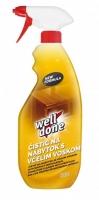 Čistící prostředek na nábytek Well Done - s rozprašovačem, se včelím voskem, 750 ml
