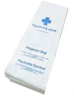 Hygienické papírové sáčky na dámské toalety - 100 ks
