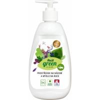 Prostředek na mytí nádobí & mýdlo na ruce Real Green Clean ECO - 500 g
