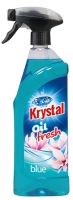 Olejový osvěžovač vzduchu Krystal - s rozprašovačem, modrý, 750 ml