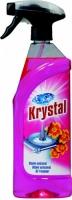 Olejový osvěžovač vzduchu Krystal - s rozprašovačem, růžový, 750 ml