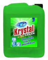 Čistící a dezinfekční prostředek Krystal Sanan - pine, gelový, 5 l