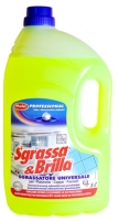 Čistící prostředek na odmašťování Sgrassa & Brilla Completo  - 5 l