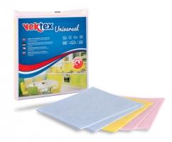 Rychloutěrka Vektex Universal - prachovka, 38x38 cm, mix barev, 5 ks