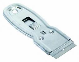 Držák s okenní škrabkou ABC - malý, kovový