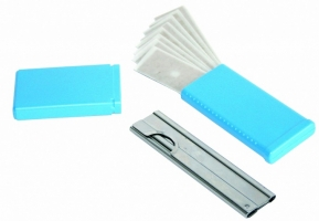 Okenní škrabka se žiletkou Trim - + 10 žiletek navíc