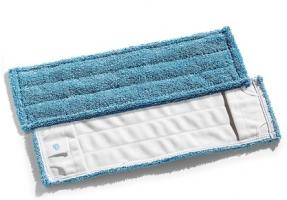 Kapsový mop Sprint Mikroblue 40 cm - bavlna/mikrovlákno/polyester, modrý