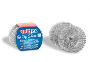 Nerezová drátěnka Vektex Top Silver - 12 g, 3 ks