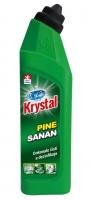 Čistící a dezinfekční prostředek Krystal Sanan - pine, gelový, 750 ml
