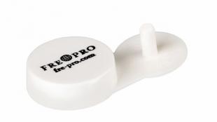 Držák na osvěžovač vzduchu FrePro Remind Air Curve - samolepící, plastový, bílý