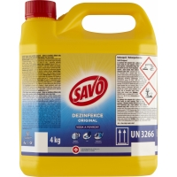 Dezinfekční prostředek Savo - original, 4 kg
