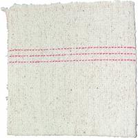 Hadr na podlahu - netkaný, 52x65 cm, zemovka, bílý