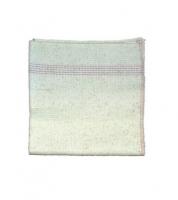 Hadr na podlahu Mistr - tkaný, 50x60 cm, zemovka, bílý