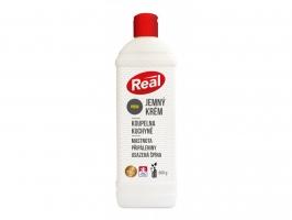 Čistící krém proti mastnotě a špíně Real jemný - fresh, 600 g