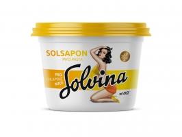 Mycí pasta na ruce Solsapon - s dermální přísadou, 500 g