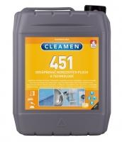 Odvápňovač nerezových ploch a technologií Cleamen 451 - 6 kg