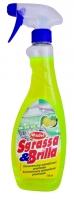 Čistící prostředek na odmašťování Sgrassa & Brilla Completo - s rozprašovačem, 750 ml
