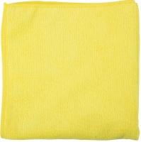 Švédská utěrka - mikrovlákno, 40x40 cm, 250 g, žlutá