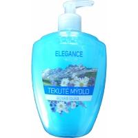 Tekuté mýdlo Elegance - s dávkovačem, alpská louka, 500 ml