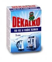 Práškový přípravek na rez a vodní kámen Dekalko - 5 sáčků, 150 g