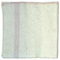 Hadr na podlahu Mistr - tkaný, 50x80 cm, zemovka, bílý