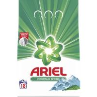 Prací prášek Ariel Mountain Spring - bílé prádlo, 18 dávek