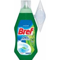 WC gel Bref - s košíčkem, pine, 360 ml