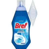 WC gel Bref - s košíčkem, ocean, 360 ml