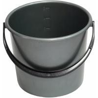 Plastový kbelík 5 l - pevný, s uchem, mix barev