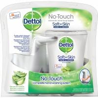 Bezdotykový dávkovač mýdla a náplň Dettol - aloe vera, 250 ml