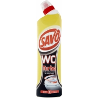 Čistící a dezinfekční prostředek Savo WC - turbo, 750 ml