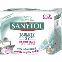 Dezinfekční tablety do myčky Sanytol 4v1 - 40 ks