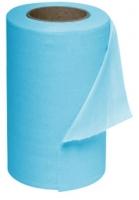 Extra savá utěrka v roli Cleamax - jednovrstvá, netkaná textilie, 27x31 cm, modrá, 50 útržků