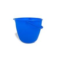 Plastový kbelík 11 l Vektex - s výlevkou, modrý