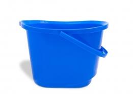 Plastový kbelík labuť 15 l Vektex - s výlevkou, modrý