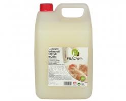 Antibakteriální tekuté mýdlo Filachem - s glycerinem, bílé, 5 l - DOPRODEJ
