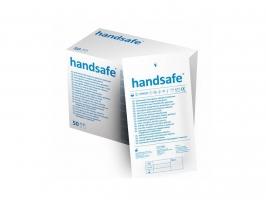 Operační rukavice Handsafe PF - sterilní, latex, bez pudru, bílé, velikost 9 - DOPRODEJ
