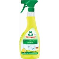 Čistící prostředek na koupelny a sprchy Frosch ECO - citrón, 500 ml