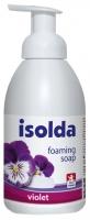 Pěnové mýdlo Isolda - s lanolinem, violet, 500 ml
