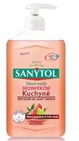 Dezinfekční mýdlo do kuchyně Sanytol - grepfruit a limetka, 250 ml