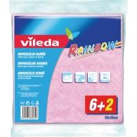 Univerzální utěrka Vileda Style - 38x38 cm, mix barev, 8 ks