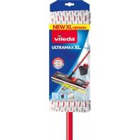Plochý mop s tyčí Vileda Ultramax XL - 43x13 cm, , teleskopická tyč až 140 cm