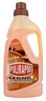 Čistící prostředek na dřevěné podlahy a povrchy Pulirapid Legno - 1 l
