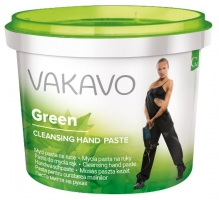 Mycí pasta na ruce Vakavo Green - 500 g