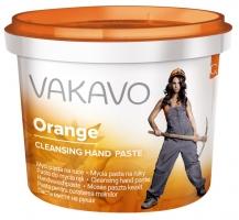 Mycí pasta na ruce Vakavo Orange - 500 g