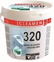 Tablety do pisoáru Cleamen 320 - 1,5 kg, ocean, 48 ks